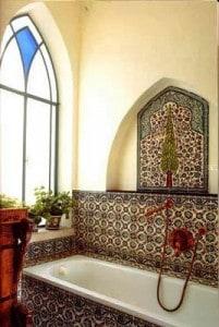 Aranżacja z tradycyjnych marokańskich płytek
