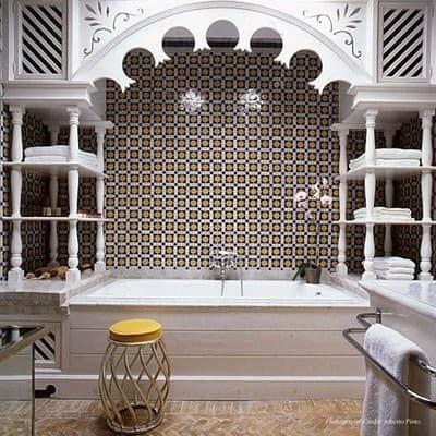 Łazienka w stylu arabskim