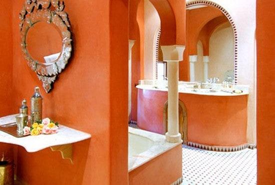 Łazienka w stylu berberyjskim