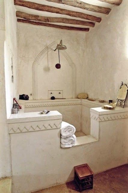 Łazienka w stylu mauryjskim