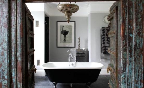 Łazienka w stylu  tunezyjskim