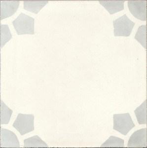 Płytki podłogowe z cementu - Białe lub ecru