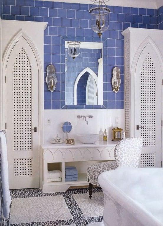 Styl marokański w łazience