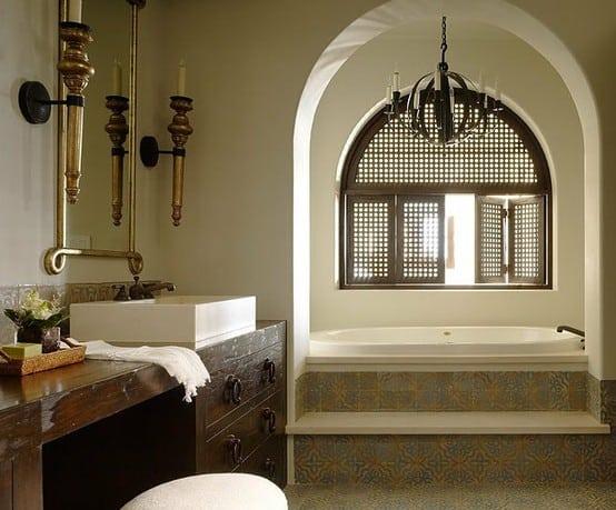 Arabska łazienka
