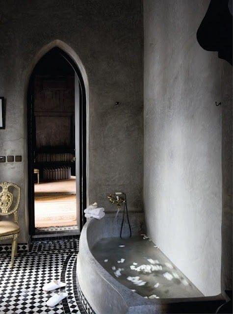 Styl arabski w łazience