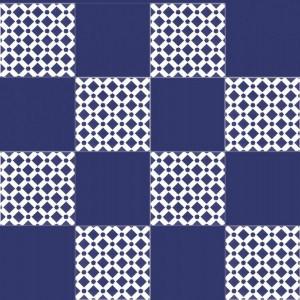 Arabskie kafelki - Niebieskie płytki