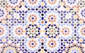 Dekory z Afryki - Marokańskie płytki