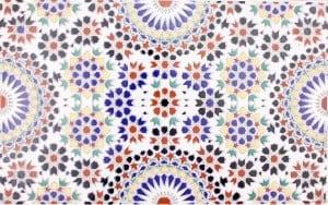 Dekory z Maroko - Marokańskie płytki ścienne