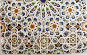 Marokańskie kafle dekoracyjne