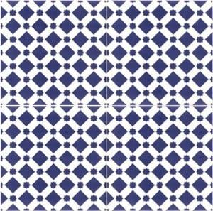Płytki marokańskie - Niebieskie płytki