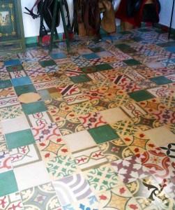 Hiszpańskie płytki podłogowe