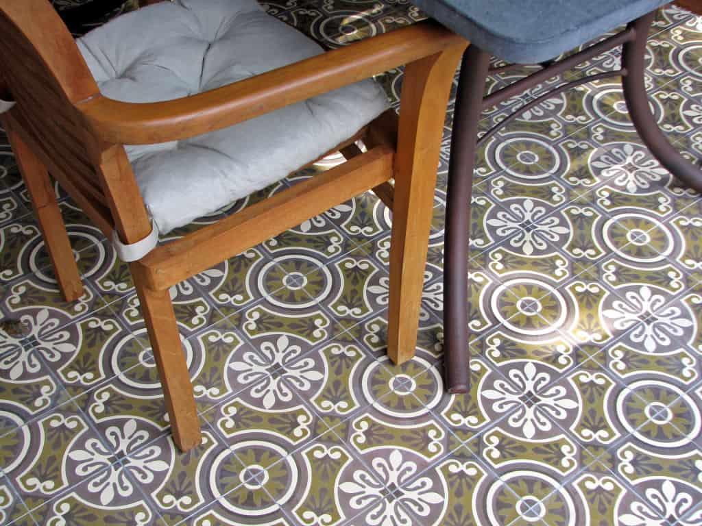Portugalskie płytki podłogowe
