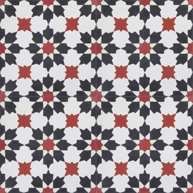 Marokańskie płytki podłogowe