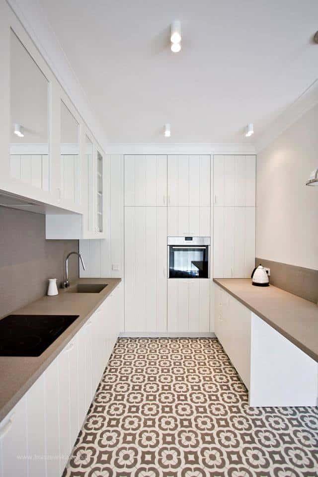 RODOLFO, płytki cementowe ze sklepu Kolory Maroka, w projekcie Katarzyny Kraszewskiej ze studia Katarzyna Kraszewska Architektura Wnętrz
