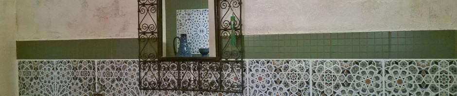Wyróżnienie (ex aequo) w konkursie na najciekawszą realizację Kolorów Maroka dla Anny Janosz (płytka ceramiczna MATTULLAH)