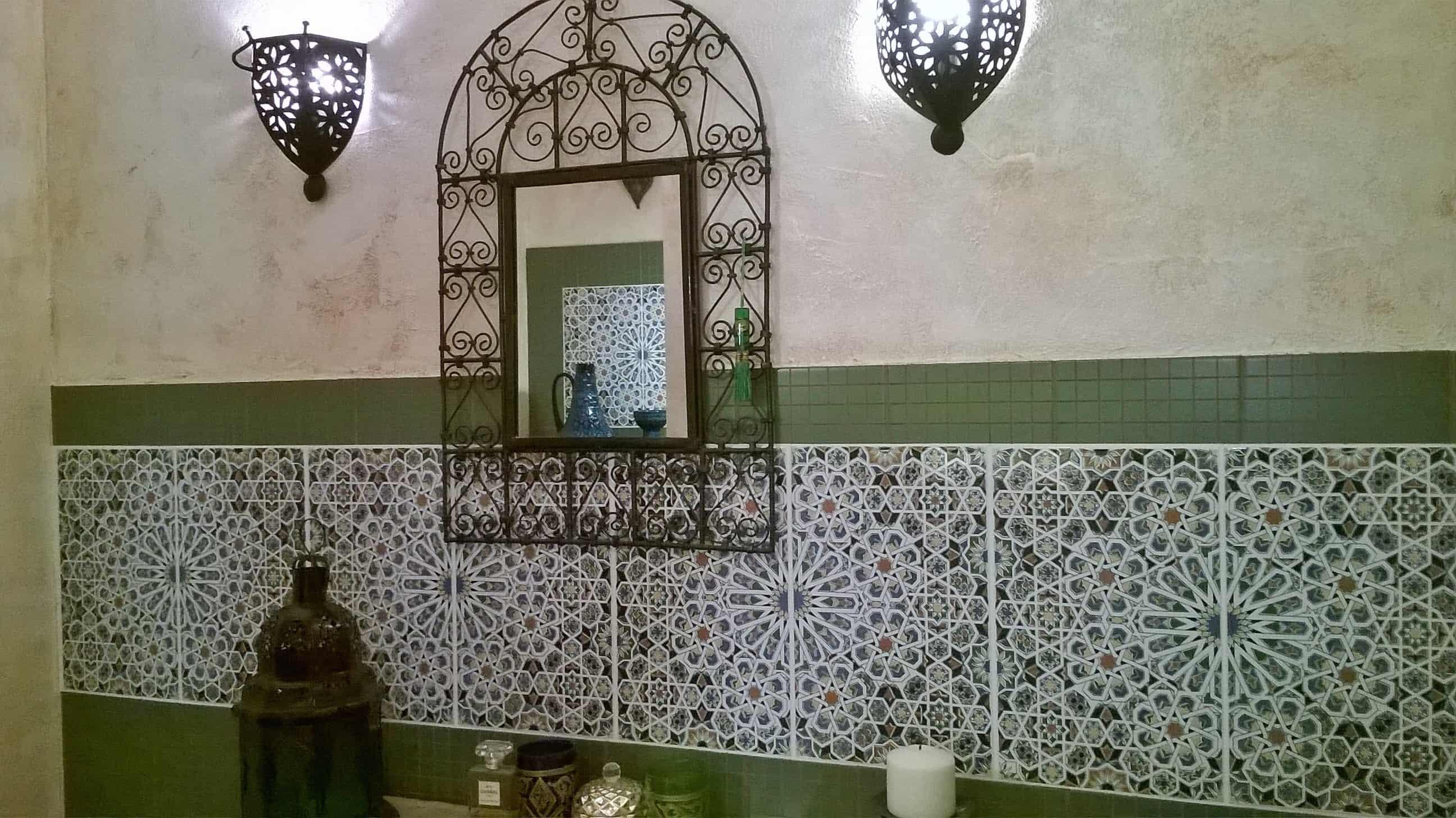 MATTULLAH - marokańskie płytki ścienne w łazience
