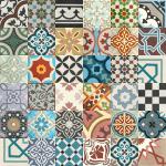 Płytki cementowe patchwork