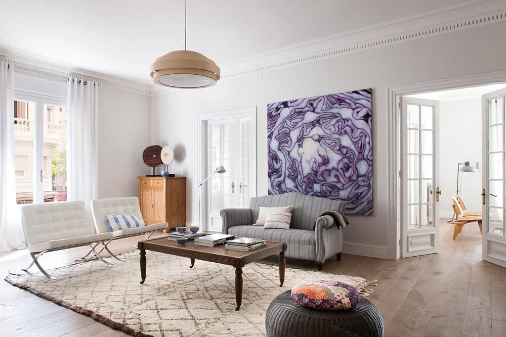 Barcelona chair (1929r.) zaprojektowane przez jedną z największych sław architektury i dizajnu - a jest nią oczywiście Ludwig Mies van der Rohe