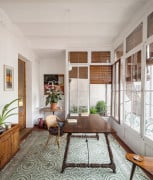 Płytki cementowe we wnętrzu vintage – Sergi Pons, Barcelona