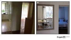 Projekt wnętrza: Agnieszka Żamojć, płytki cementowe CAVANI ze sklepu Kolory Maroka
