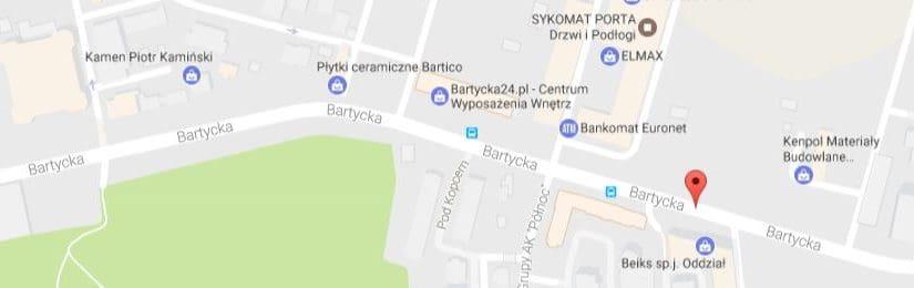 Płytki cementowe w salonach na Bartyckiej
