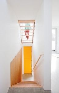 Świetlik nad schodami