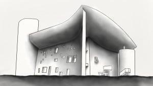 Le Corbusier, Kaplicy Ronchamp