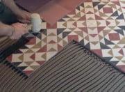 Płytki cementowe na posadzce z ogrzewaniem podłogowym
