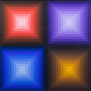 Victor Vasarely, (French/Hungarian, 1906-1997), ARCTU, 1964-92