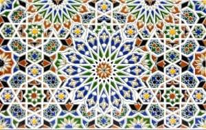 NAZIR, płytka cementowa dostępna w sklepie Kolory Maroka