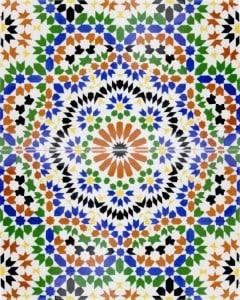 NADIA, płytka ceramiczna z sklepu Kolory Maroka