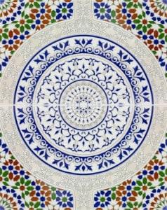 TOUSKA, płytka ceramiczna z Kolorów Maroka