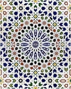 RAHMA, płytka ceramiczna z Kolorów Maroka