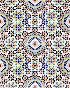 ESMINA, płytka ceramiczna z Kolorów Maroka