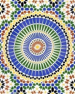 ADEL, płytka ceramiczna z Kolorów Maroka