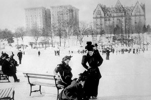 Dakota Apartaments, widok od strony Central Parku