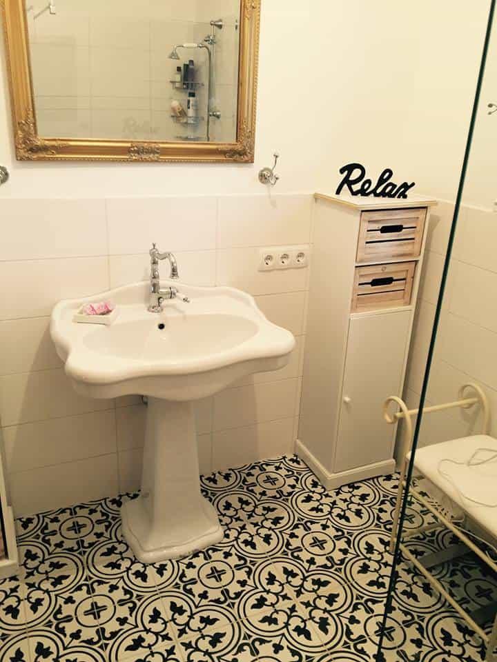 Płytki Cementowe łazienka 2
