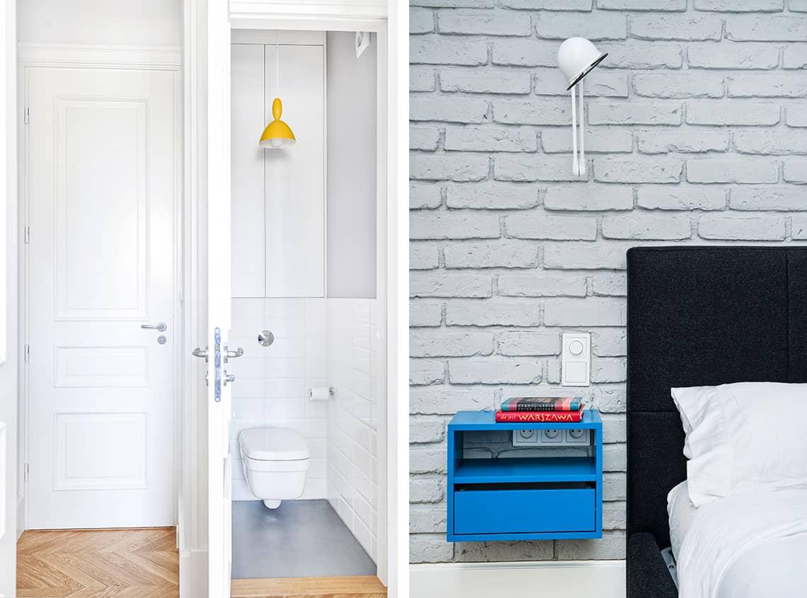 Łazienka na Powiślu zaprojektowany przez EG Projekt