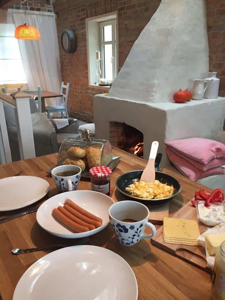 Śniadanie w domu Doroty Szelągowskiej na Warmii