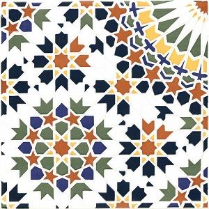 Hala - Ceramiczne płytki z Maroka